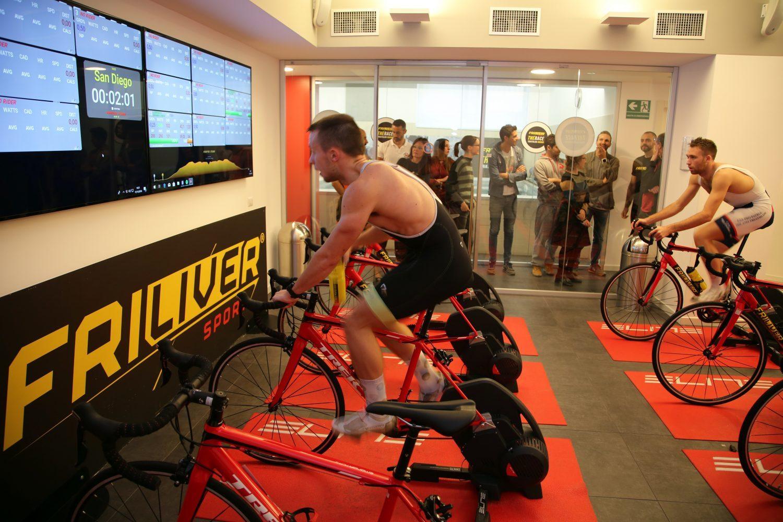 Gara bike indoor Tri60