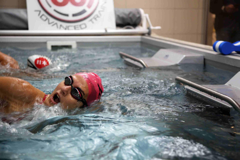 Gara Master nuoto Endless Pool in Tri60